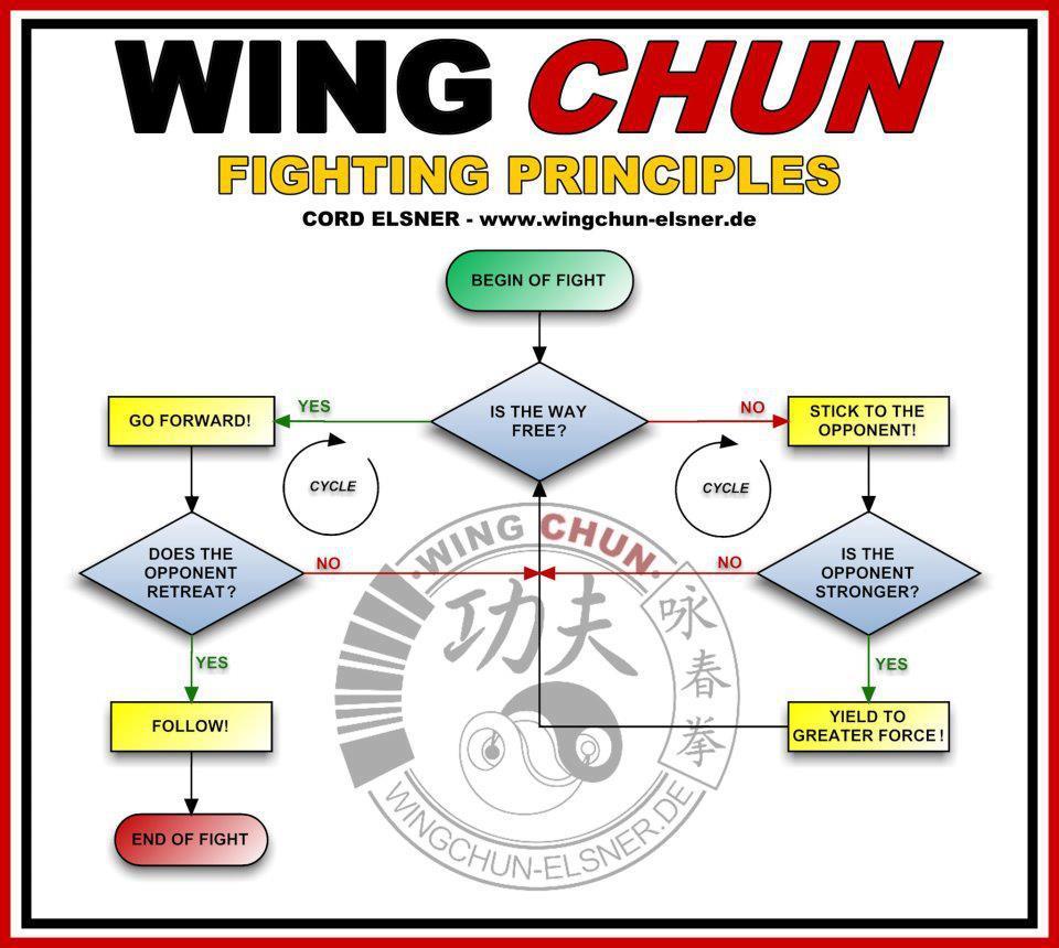 Wing Chun Fighting Principles